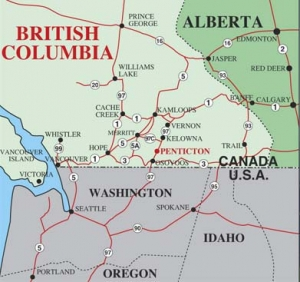 BC Area Map