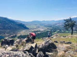 Epic Vineyard Hike with Epic Cycling, Okanagan
