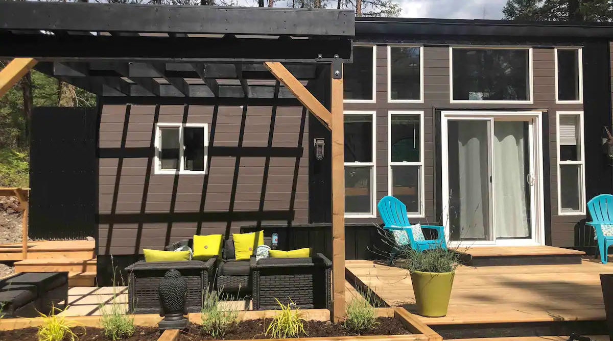 Rent the tiny house
